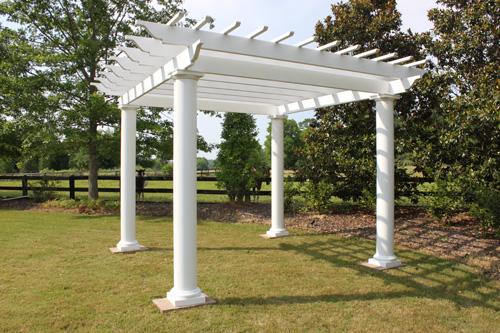 Pergola Kit with Round Columns