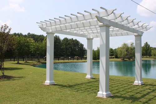 Pergola Kit with Square Columns